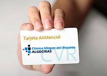 Tarjeta Asistencial CVR: CLÍNICA VIRGEN DEL ROSARIO Servicios Médicos Privados de alta calidad.